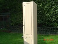 Tall Single Wardrobe With Full Length Hanging Rail. In Good Condition. Can Deliver.
