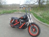 Harley Davidson Street Bob 2013