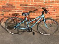 Ladies Raleigh Pioneer Hybrid Bike. Good condition. Free Lock, Lights & Delivery.