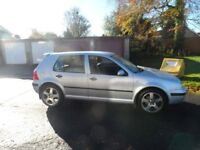 VOLKSWAGEN GOLF SE TDI Y REG 2001 MOT END JAN 2018