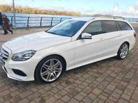 Mercedes Benz E class 220 CDI AMG Sport 7G-Tronic plus 5 door