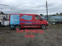 BREAKING 2009 MERCEDES SPRINTER 2.1 CDI FOR PARTS