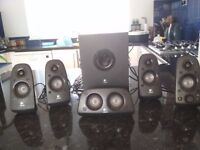 Logitech Z506 surround sound speakers - 75W, 5.1