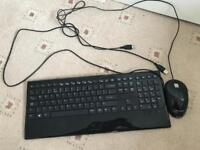 Accuratus usb keyboard and mouse set