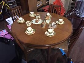 GPlan mid century table & 4 Chairs