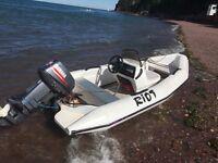 4m boat rib 25 Yamaha
