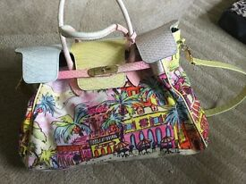 Beverly Feldman 'too much is not enough' vintage handbag