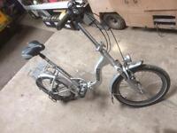 Electric folding bike vgc
