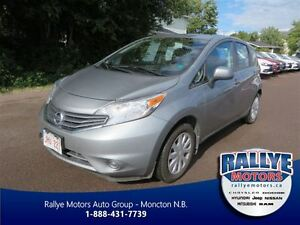 2014 Nissan Versa Note 1.6 S! Bluetooth! Traction! Trade-In! Sav