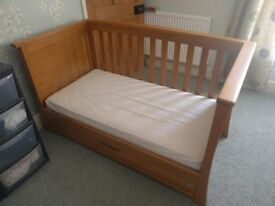 Mamas & Papas 'Famiglia' Cot Bed - *Excellent Condition* - with Underbed Drawer