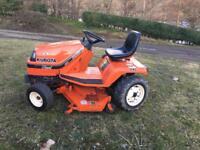 Kubota G1900S tractor mower