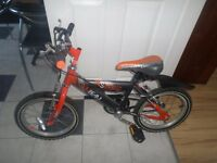 "Boys Bike frame size 10"" suits 6-8 years"