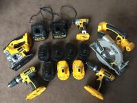 *** DEWALT POWER TOOL SET £100 NO OFFERS**