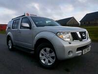 March 2007 Nissan Pathfinder 2.5 Dci Aventura 7 Seater! Top Spec! Heated Leather! Sat Nav! Camera!