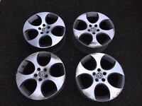 Genuine VW BBS Monza 2 Golf GTI Wheels