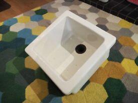 Vintage Ceramic Science Lab Sink