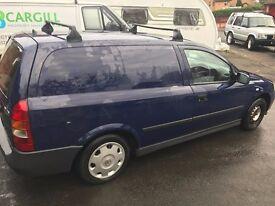 Vauxhall Astravan 2005 good reliable van