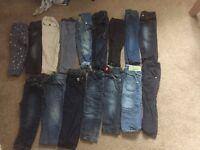 Huge bundle of boys clothes 18-24