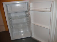 nearly new, 1st class condition, under counter fridge freezer from currys,