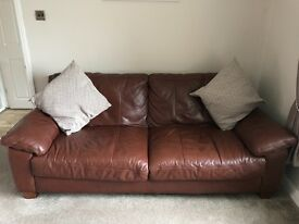 Sofa, chair and foot stool for sale