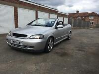 2005 Vauxhall Astra 2.0 TURBO coupe convertible. (Z20LET)