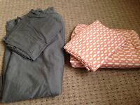 Double duvet cover & Fitted sheet with pillow cases