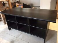 Black wooden coffee table, Good condition, DELIVERY AVAILABLE
