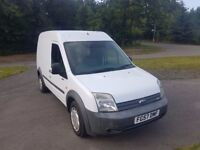 FORD TRANSIT CONNECT T230 LX90 LWB 57 2007 with fold away rear seat