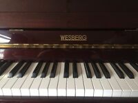 Wesberg piano for sale, great condition