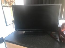 Toshiba 28 inch lcd tv with remote