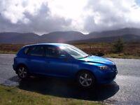 Mazda 3, Blue, Spacious hatchback £900 o.n.o