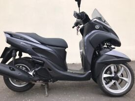 2016 Yamaha Tricity 125 mint scooter must be seen low milage -finance available £2750