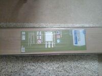laminate flooring. venezia oak. 12mm thick bevel edged 4 sided.