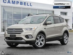 2017 Ford Escape Titanium AWD-WITH 8,000 KMS