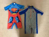 Boys all in one swimsuits 2-3 years