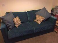 Large Fabric Nabru Sofa Bed
