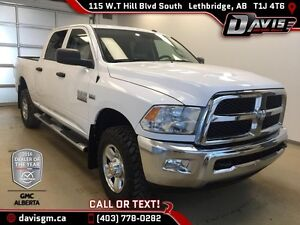 Used 2016 Ram 2500 4WD Crew Cab ST-CERTIFIED PRE OWNED