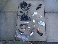 50 (approx.) VARIOUS CHARGERS, CABLES, LEADS FOR PHONES, GAMES CONSOLES & TV and INTERNET, £10