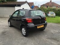 (55) 2005 TOYOTA YARIS 1.3, 86,000 MILES, MOT TILL NOVEMBER, HPI CLEAR, 2KEYS