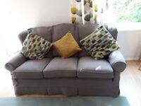 3 seater Multiyork sofa and armchair