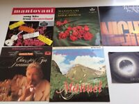 James Last, Mantovani and other artists collection of 5 Vinyl LPs plus single