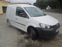 2012 vw caddy auto 102 tdi uk van full history vans-u-you.co.u k seen in belfast any day