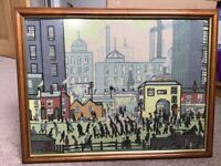 Tapestry - L S Lowry