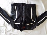 Lewis Leather motorcycle Jacket- Used - No damage