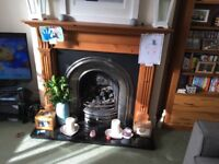 Fire, Fireplace Surround, Mantlepiece and Hearth