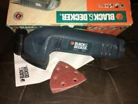Black and Decker detail sander