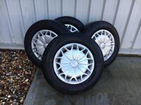 """Ford Transit Custom set of 4x 15"""" Tyres & Wheels 215/65R15C 104/102 T - Excellent Condition"""