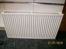 white double radiator