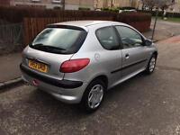 2002 Peugeot 206 7 months mot 67000 miles
