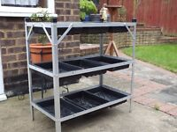 3 Tier Greenhouse staging.